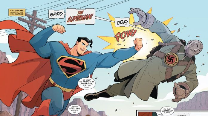 The Superman story that hindered the Ku Klux Klan is finally a comic -  Polygon