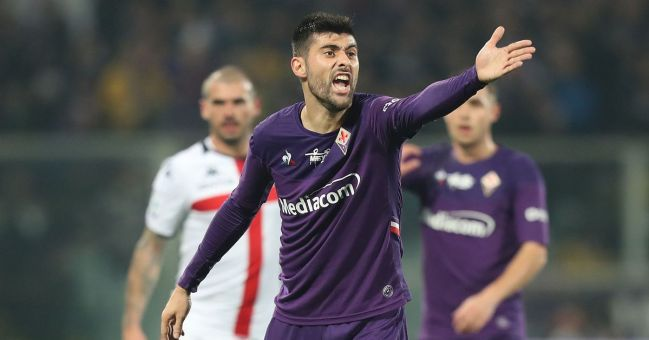 Image result for photos of fiorentina vs genoa