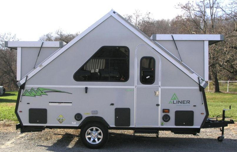 Pop Up Camper Is Like An A Frame On