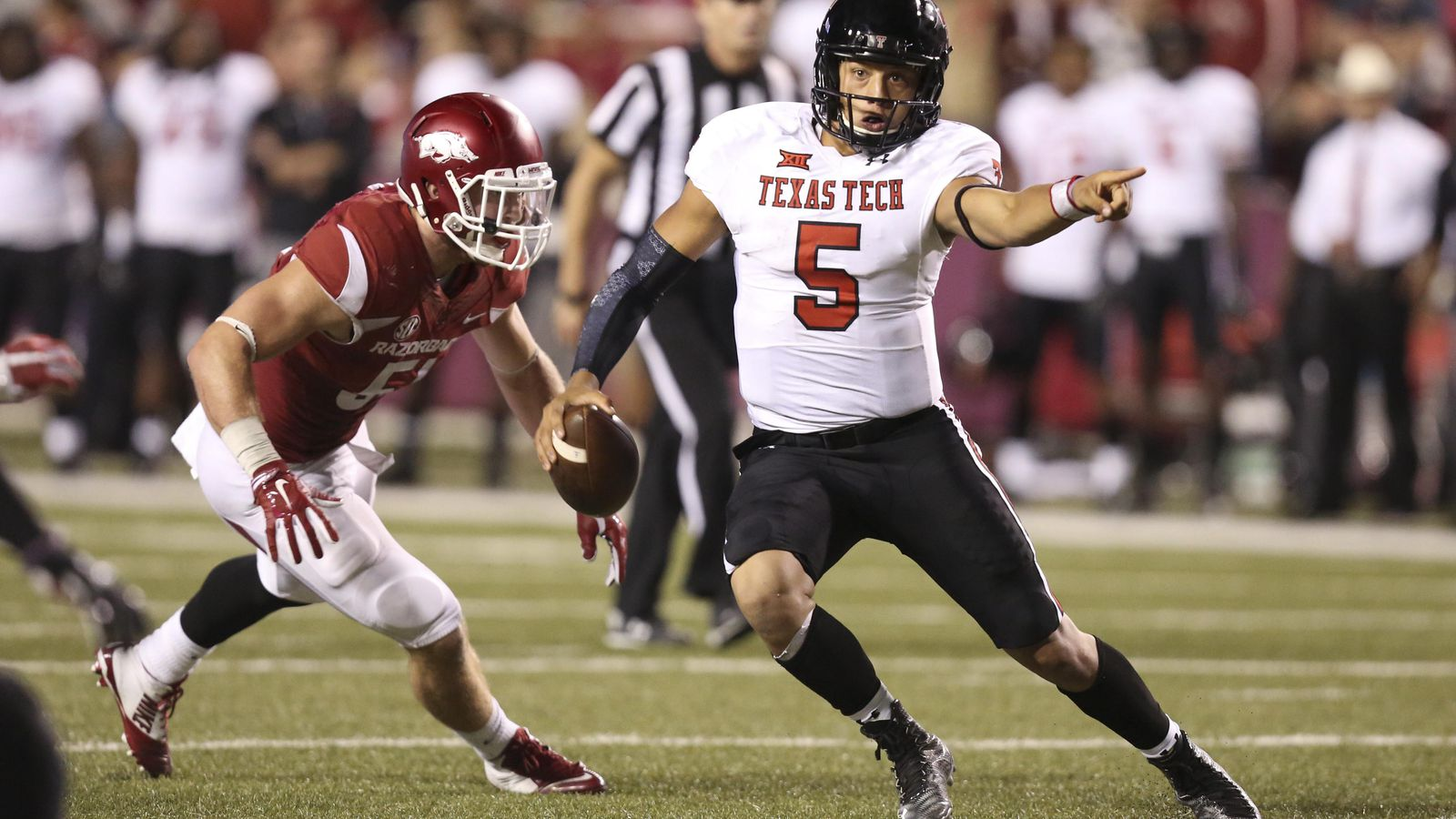 Texas Tech Offensive Player To Watch Patrick Mahomes