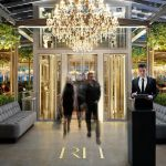 Rh Rooftop Restaurant From Brendan Sodikoff Opens In Meatpacking District Store Eater Ny