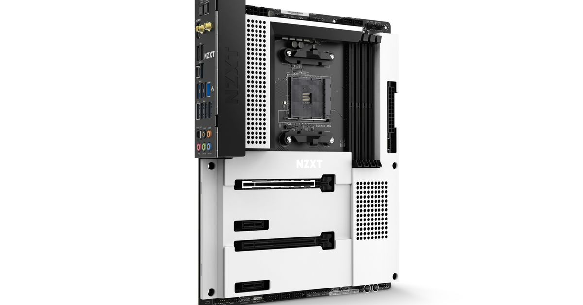 NZXT's first AMD motherboard is sleek and packed with USB ports