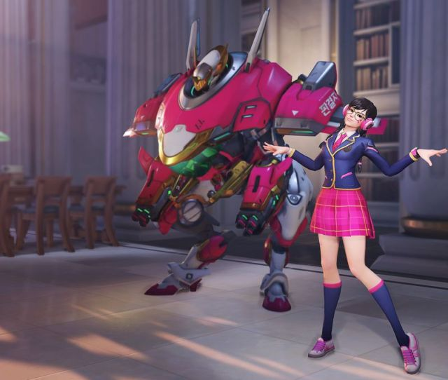 Blizzards Reveal Of Schoolgirl D Va Kicked Off An Overwatch Porn