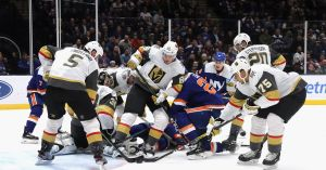 Golden Knights lose 3-2 in overtime to Islanders, extend point streak to five games