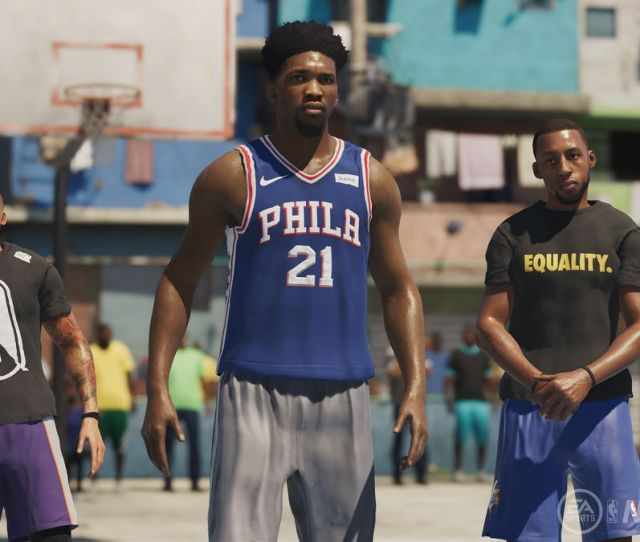 Nba Live 19 Saves Eas Troubled Series With A Fantastic Playground