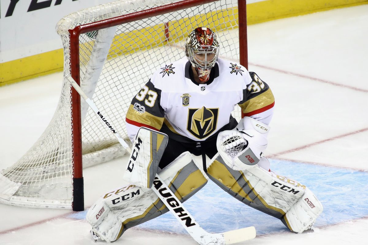 Golden Knights 2 Active Goalies Have Recorded 0 Combined