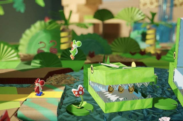 Image result for yoshi's crafted world