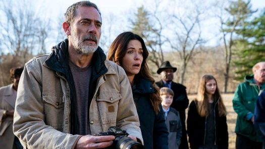 Jeffrey Dean Morgan and Katie Aselton in Screen Gems THE UNHOLY