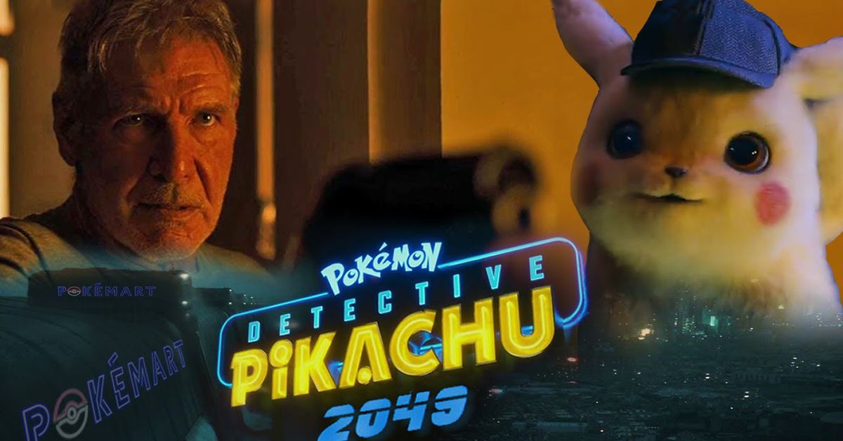 Detective Pikachu Blade Runner Mash Up Video Is Pure