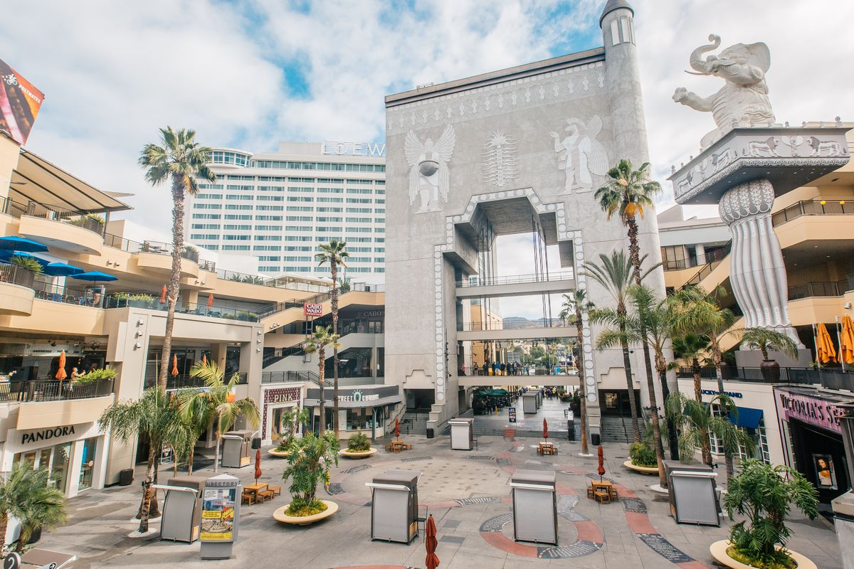 Hollywood Amp Highland Centers Design Is Based On The