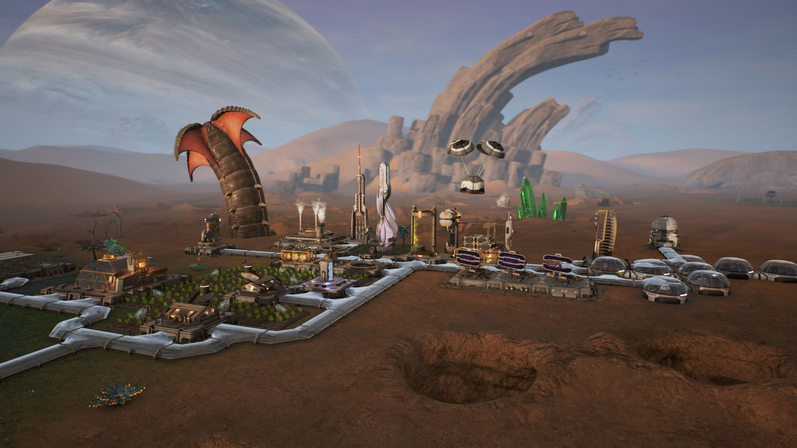 Watch Us Play Space Strategy Game Aven Colony Polygon