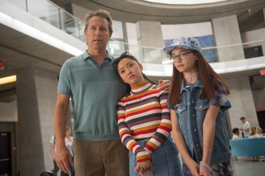 lara jean, kitty, and their father