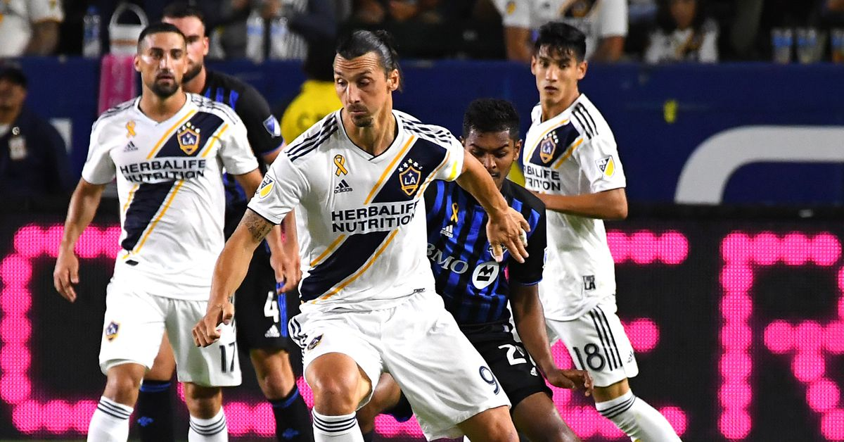 LA Galaxy top Montreal Impact 2-1