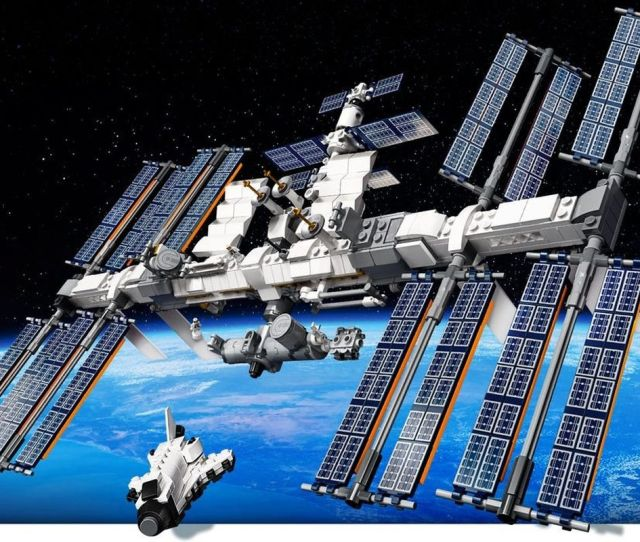 Lego Releases New International Space Station Set Sends It Into
