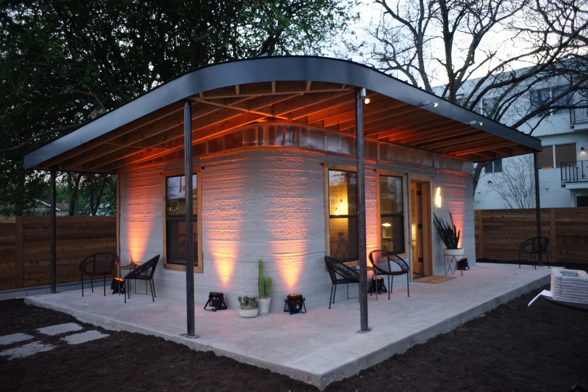 Best Kitchen Gallery: This Cheap 3d Printed Home Is A Start For The 1 Billion Who Lack of Cheap Earth Homes on rachelxblog.com
