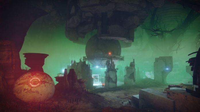 Destiny 2 - Vex cave, Nessus