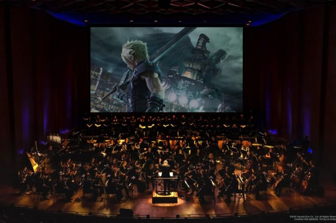 FFVIIRemakeCon_1_1.0 Listen to 16 minutes of Final Fantasy VII Remake's soundtrack performed by a live orchestra   The Verge