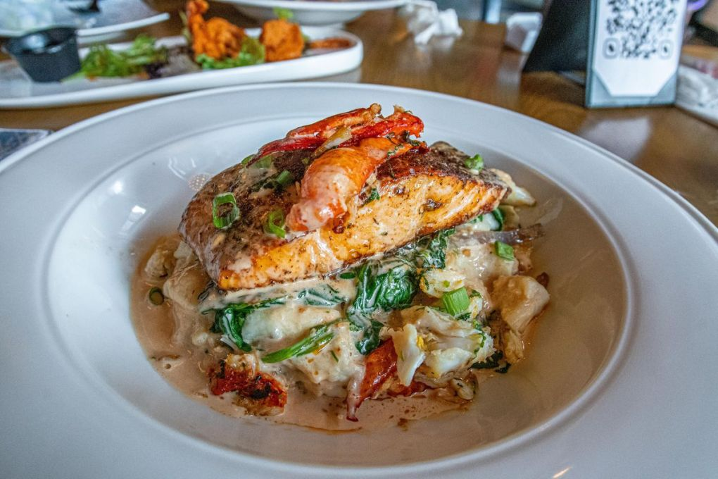Lobster-topped fish from Kitchen Cray