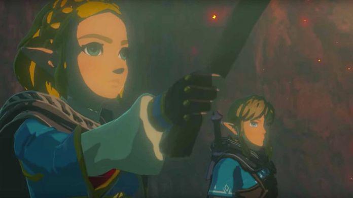 Zelda and Link in The Legend of Zelda: Breath of the Wild 2