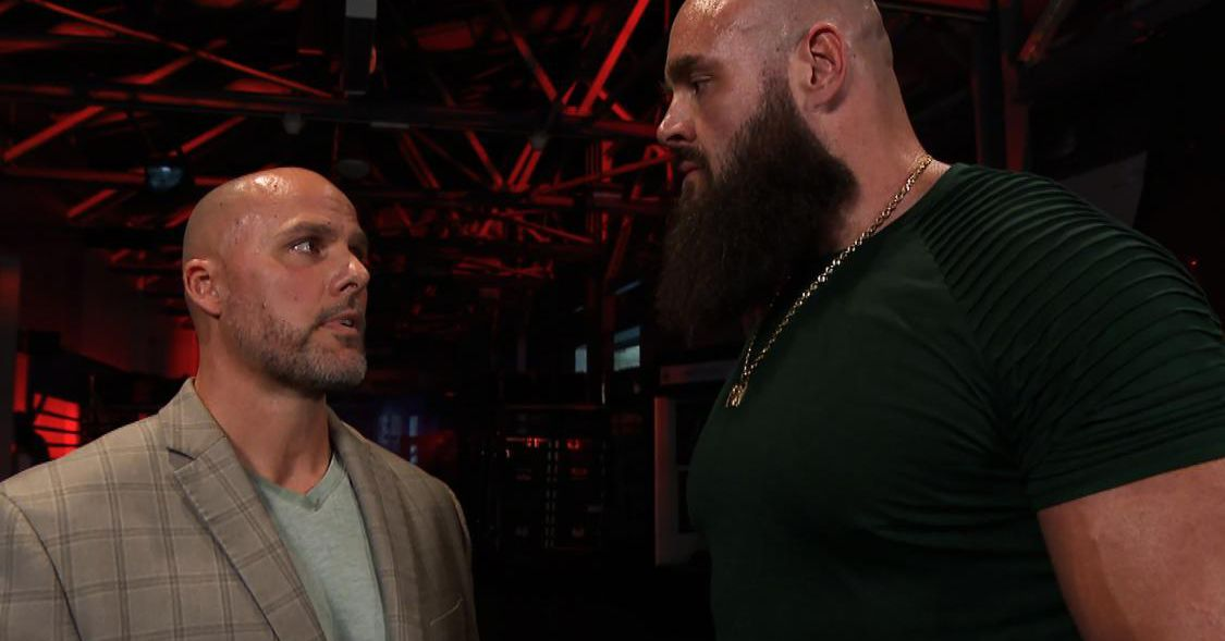 WWE reminds us Strowman was once in a 7 man Elimination Chamber match