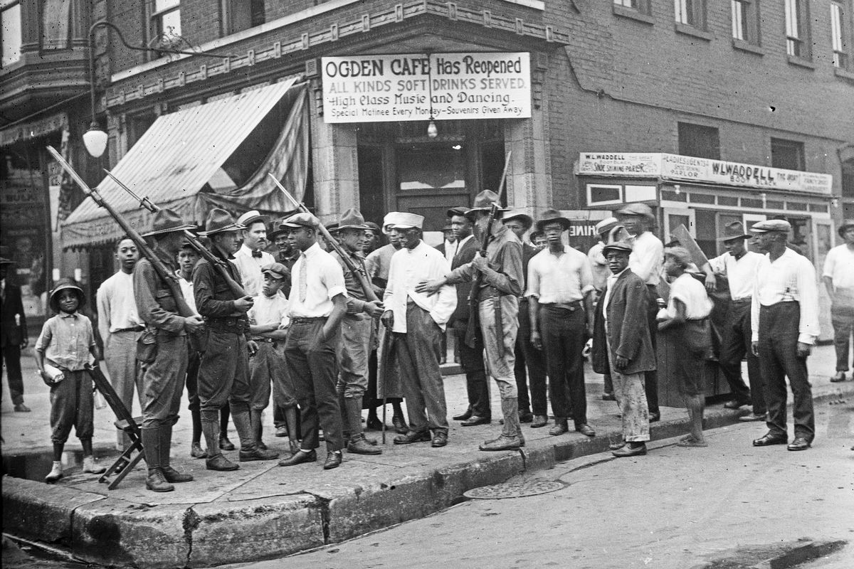 Unholy Centennial Of Race Riots Finds A City Still