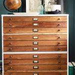 Before And After Diy Map Drawer Dresser This Old House