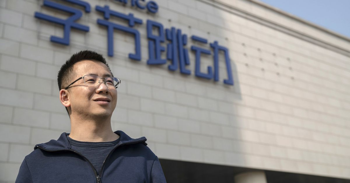 Founder of TikTok owner ByteDance resigns as CEO
