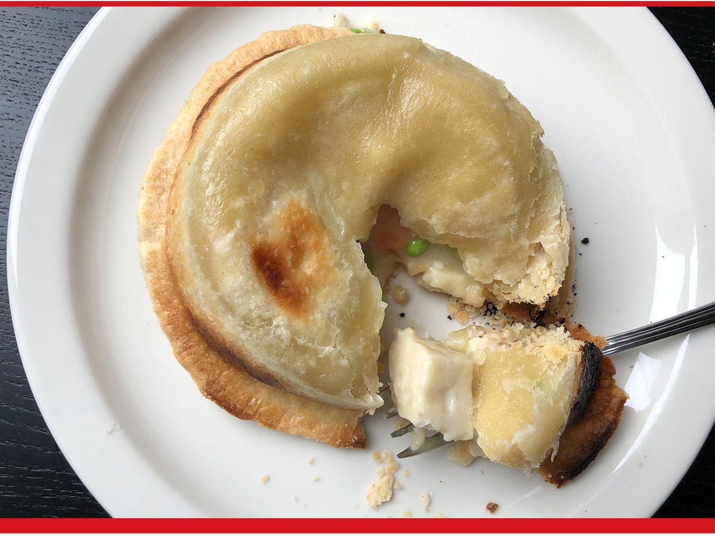 pot pie upside down