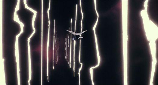 The flight to Laputa through lightning, Castle in the Sky