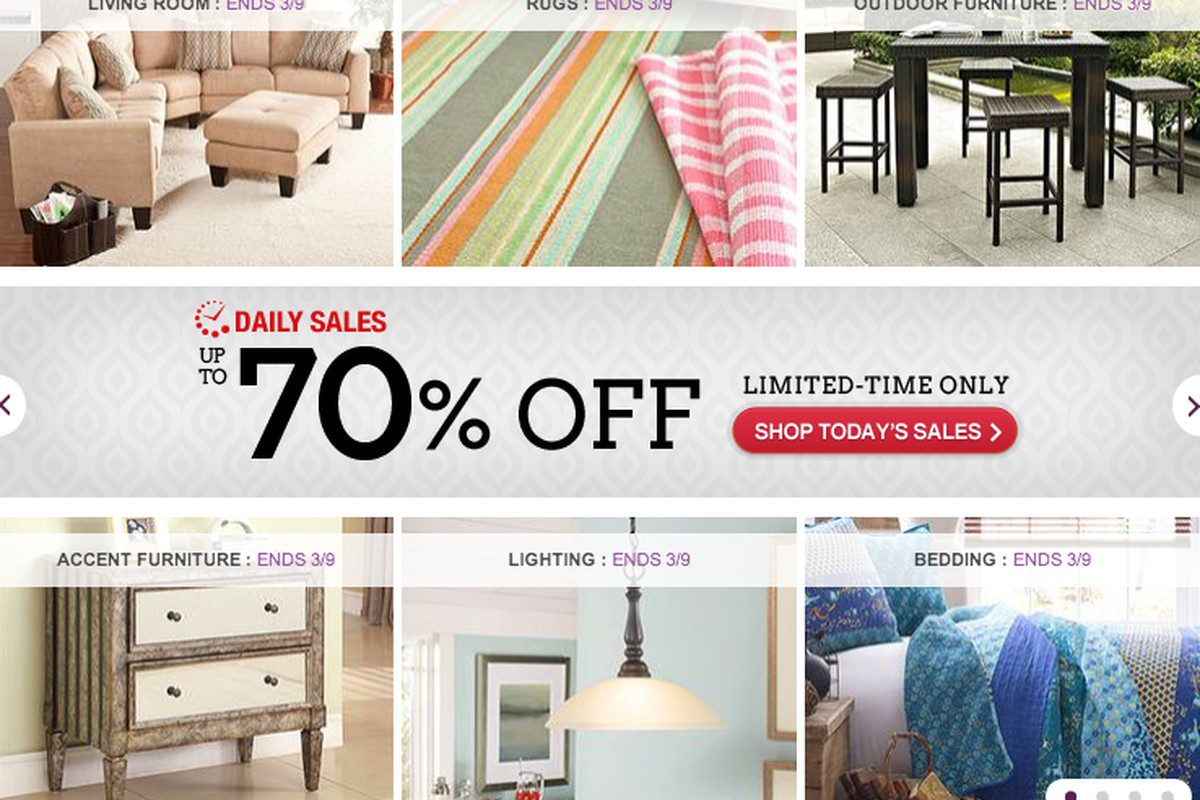 furniture seller files for ipo