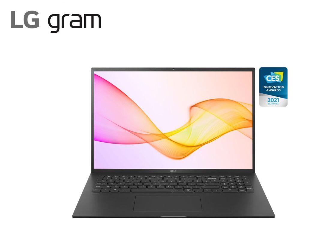 2021 LG gram 17Z90P Black