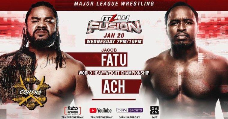 MLW Roundup: Jacob Fatu title fight tonight, grudge match, more!