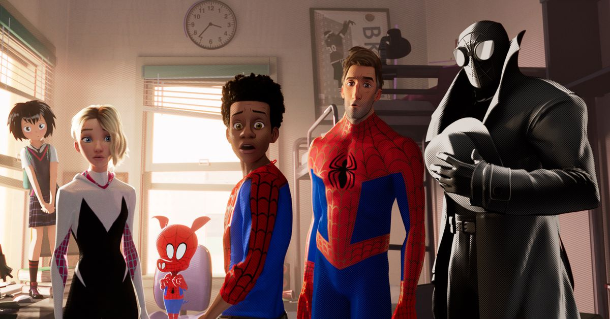 Spider Man Into The Spider Verses After Credits Scene Explained Polygon
