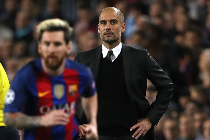 """Image result for guardiola and messi"""""""