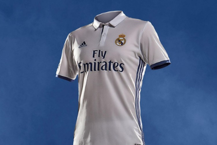 Official: Real Madrid unveil home and away kits for 2016 ...