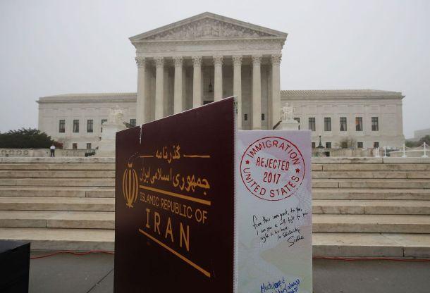 U.S. Supreme Court Hears Oral Arguments On Trump Travel Ban