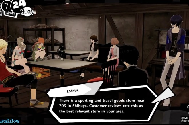 Screen_Shot_2021_02_23_at_1.39.59_PM.0 The original voice of Siri makes an appearance in Persona 5 Strikers   The Verge