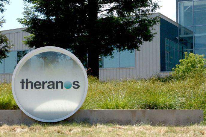 Theranos corporate headquarters