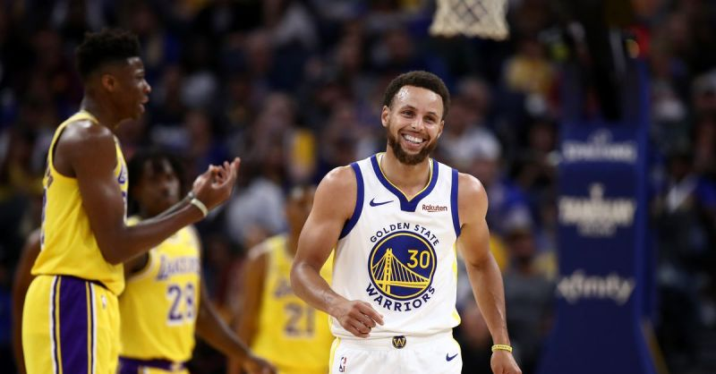 Warriors close the preseason with a 124-103 drubbing of the Lakers