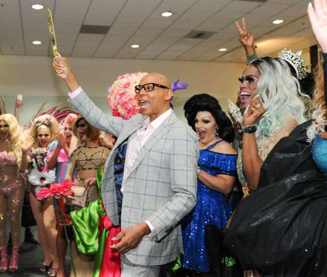Rupaul And Drag Race Queens Supermodels Of The World At Last Years Dragcon In Los Angeles World Of Wonder