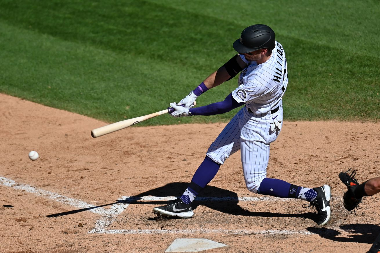 MLB: San Francisco Giants at Colorado Rockies