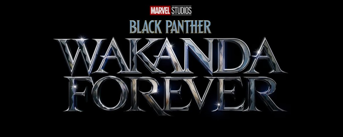 Title treatment for Black Panther 2 Wakanda Forever