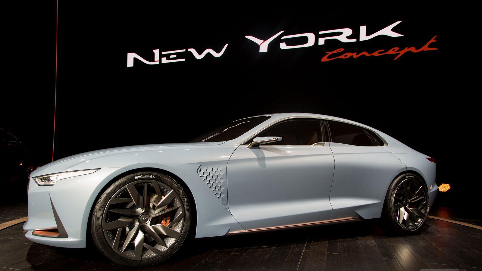 Genesis New York Concept Is A Sports Sedan Thatll Make