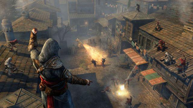 Assassin's Creed: Revelations - Ezio directing Assassin apprentices