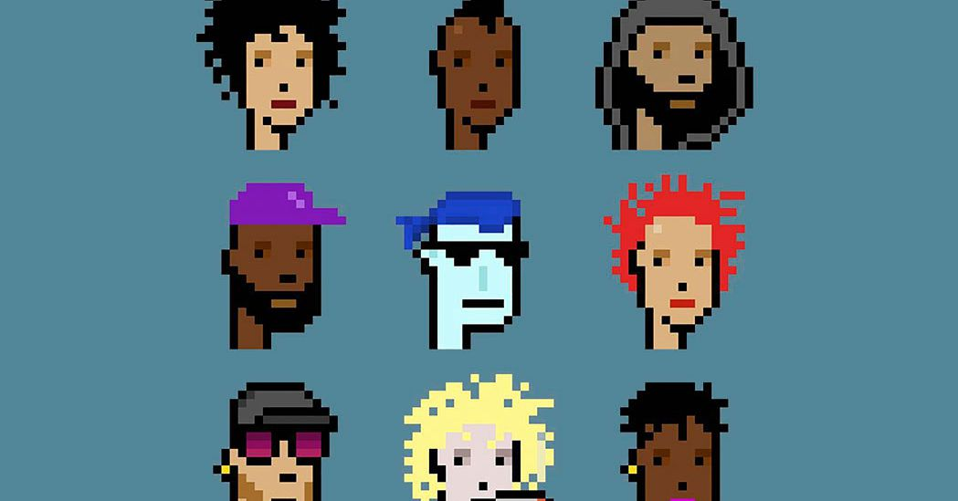 CryptoPunks NFTs sell at Christie's for .9 million