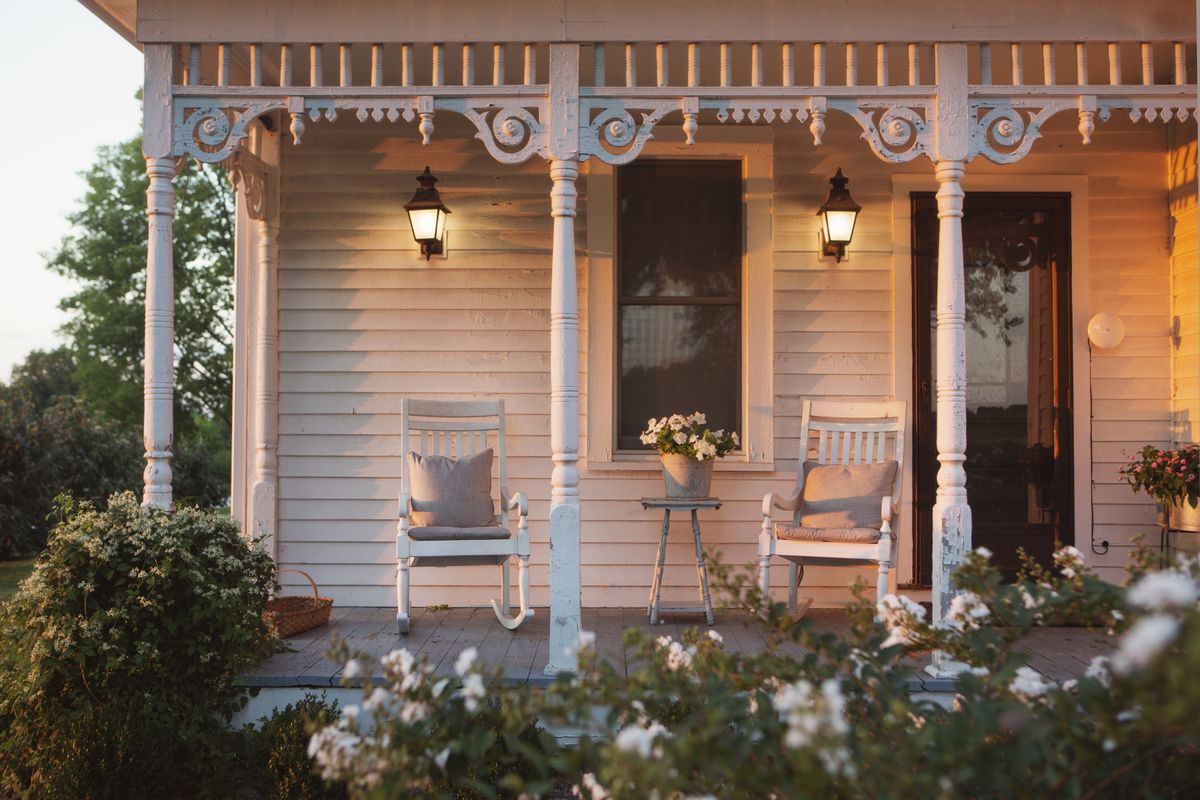 Tiny Front Porch