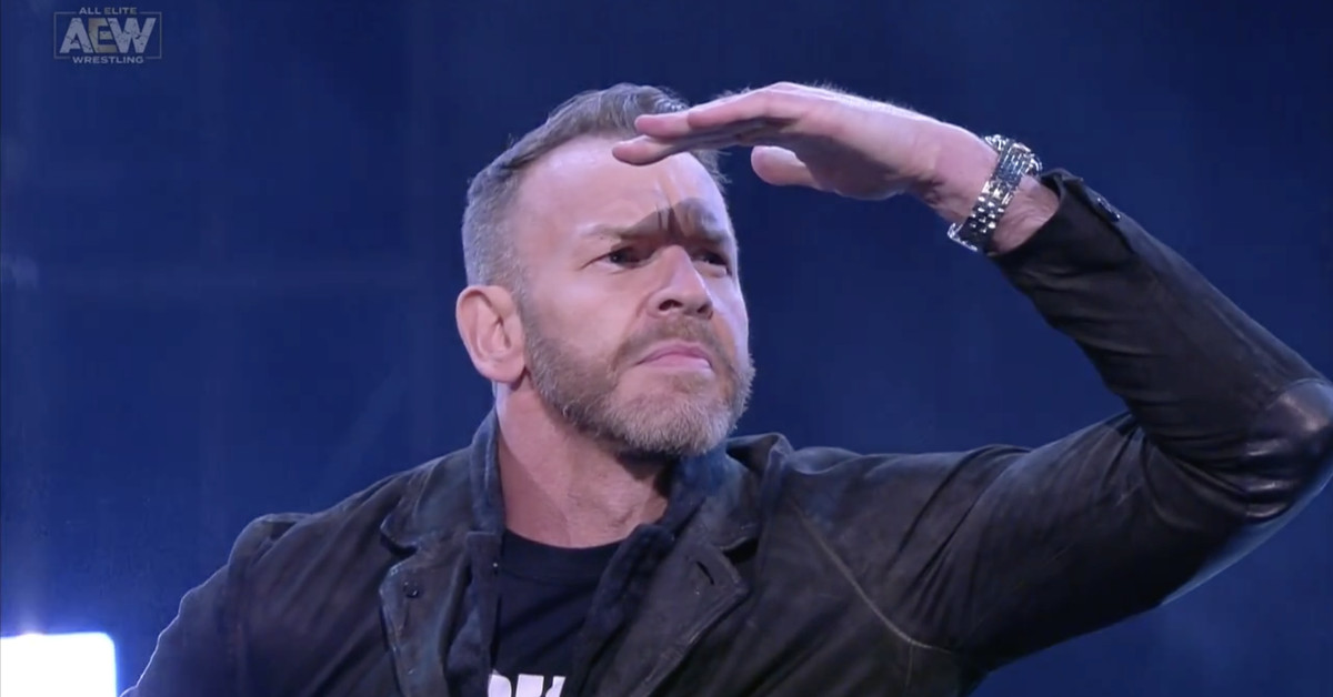 Christian is the AEW mystery signing