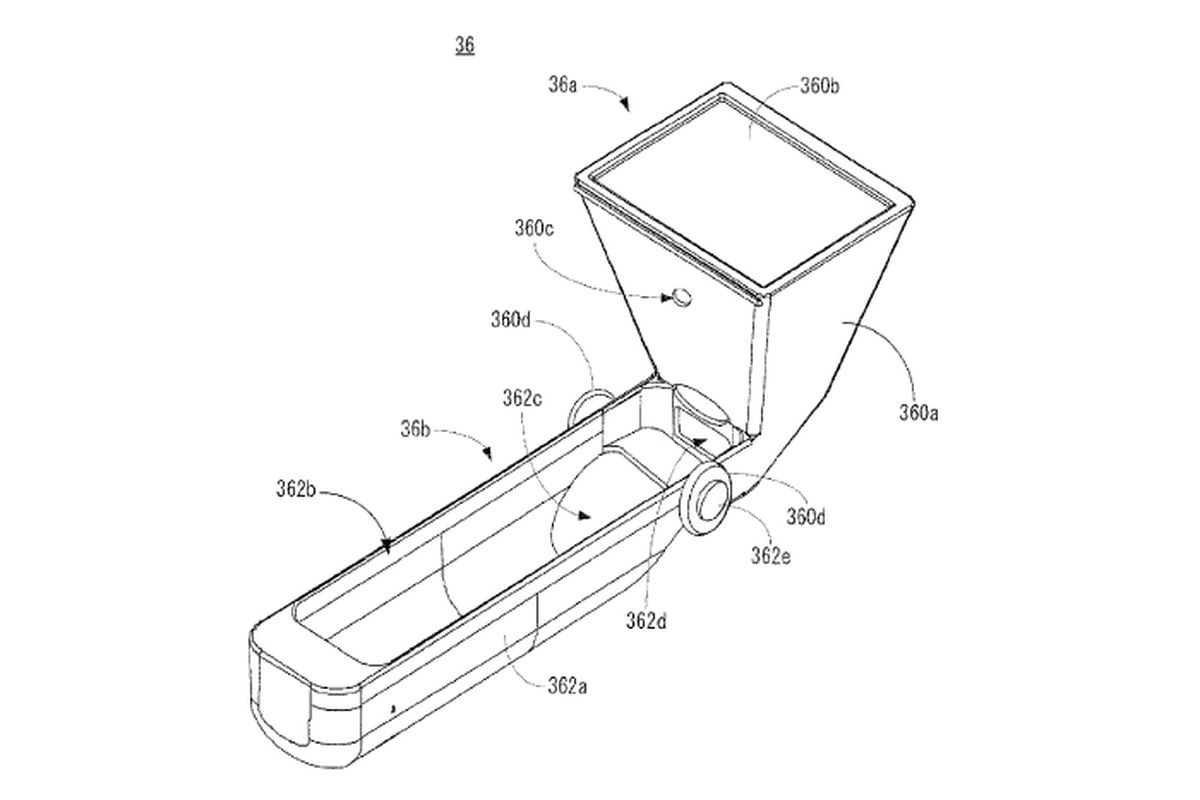 Nintendo Patent Application Shows A Touchpad Rigged To The