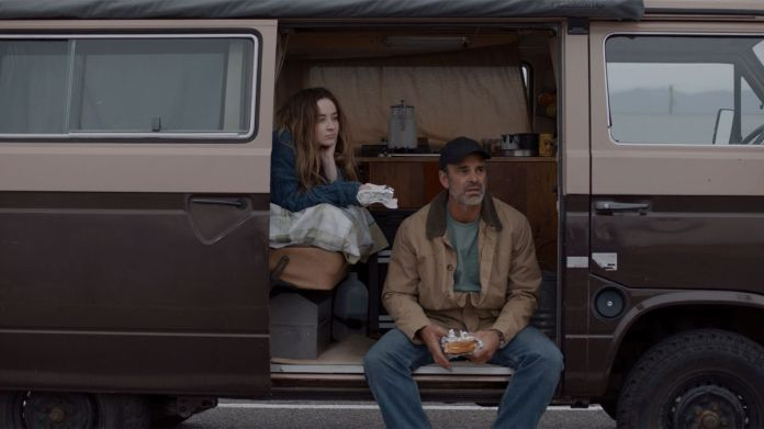 sabrina carpenter and steven ogg in the short history of the long road
