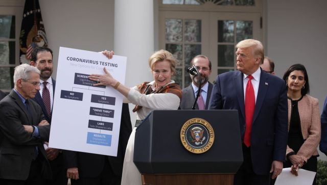 Trump declares national emergency in coronavirus fight